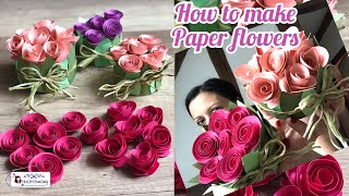 Diy how to make paper flowers how to recycle a can of tuna