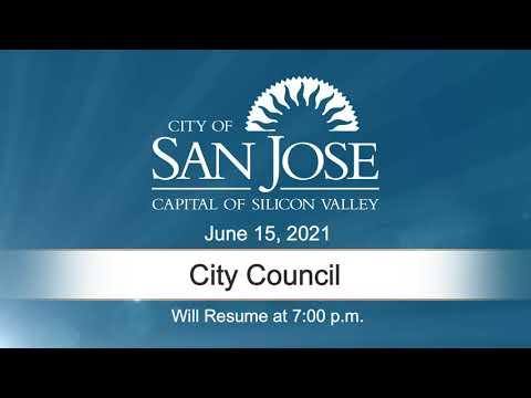 JUN 15, 2021 | City Council, Evening Session