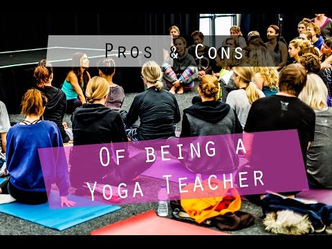 Pro's and Con's of being a Yoga Teacher| Yoga with Celest Pereira
