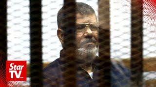Egypt's ex-president Mursi dies in court
