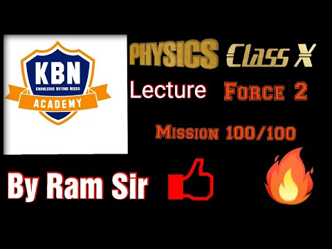 Kbn Physics Lect Force2 By Ram Sir