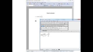Accessing MathType in OpenOffice