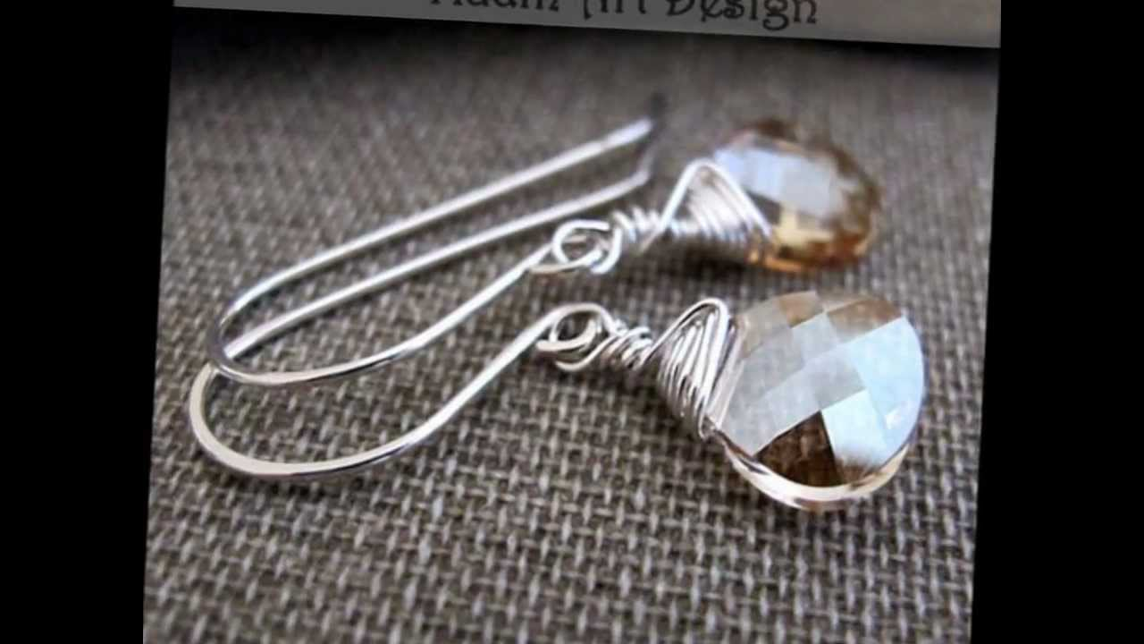 Handmade French Hook Ear Wires - Sterling Silver / Gold Filled ...