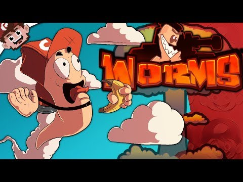 BANANA + JETPACK = VICTORY!   Mutually Assured Destruction! (Worms W.M.D)