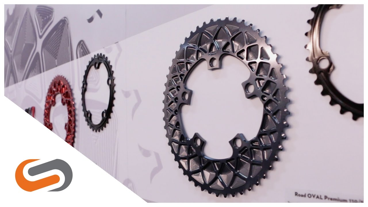 088247639c0 Absoluteblack Oval Chainrings at Interbike 2016