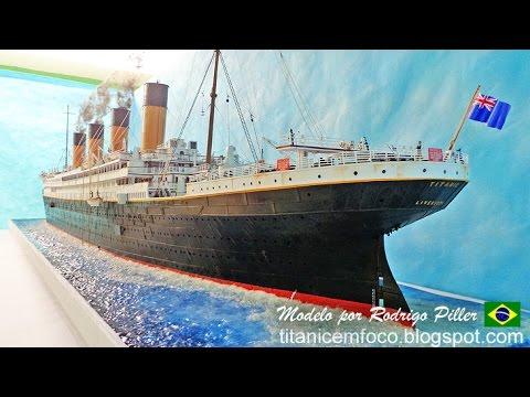 Titanic model / diorama, 1:100, scratchbuild, Rodrigo Piller, Brasil