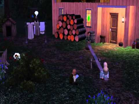 La Petit Maison Dans La Prairie Version Sims Youtube