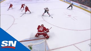 Jonathan Huberdeau finds Evgenii Dadonov With Huge Stretch-pass For Panthers Goal