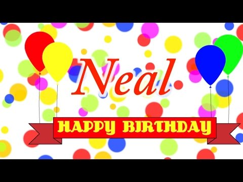 Happy Birthday Neal Song