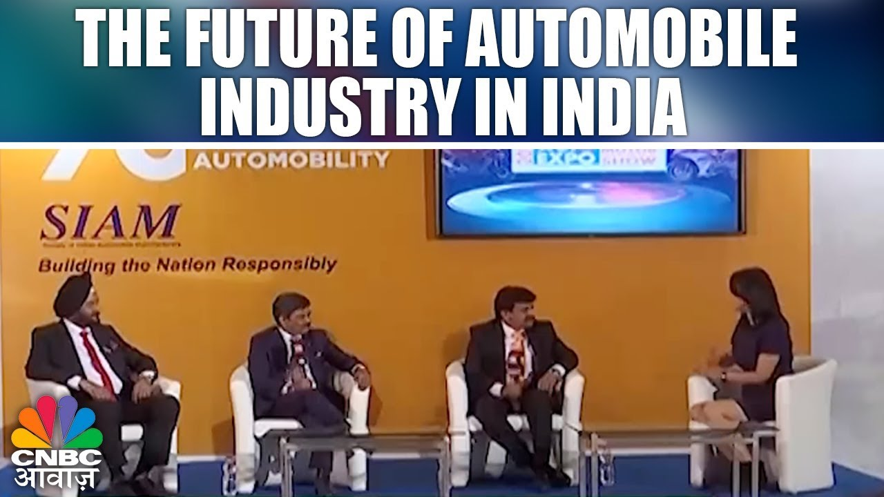 Car Nama The Future Of Automobile Industry In India Auto Expo 2018 Cnbc Awaaz