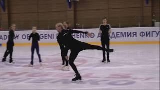 Евгений Плющенко и его ученики. Muse - Exogenesis Symphony part 3.Тренировка.ч1.Академия Плющенко