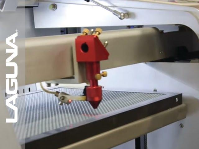 Laser CNC Machine Tube Install and Alignment - Laguna Tools