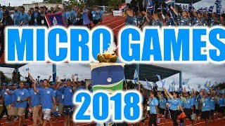 Microgames 2018 Yap Opening Ceremony Montage