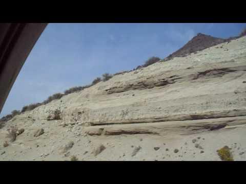 Nevada desert on Highway 140