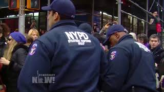 Exclusive Video: NYPD Violently Arrests Protesters After ICE Detains Immigrant Leader Ravi Ragbir