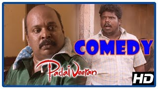 Latest Tamil Comedy 2018 | Padaiveeran Comedy Scenes | Vijay Yesudas | Singampuli | Bharathiraja