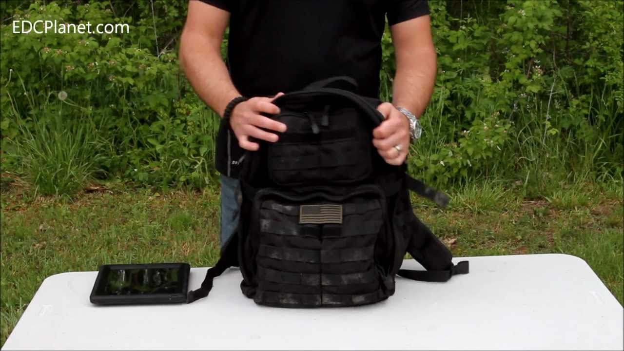 15759b4c95 5.11 Rush 24 Backpack Review - YouTube