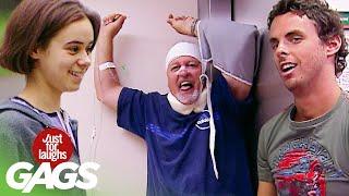 Best of Medical Pranks   Just For Laughs Compilation
