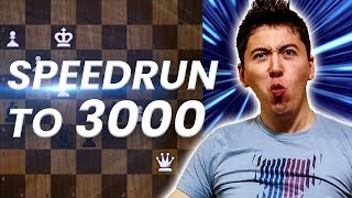 GM Eric Hansen Blitz Speedrun to 3000 | 1200-1500