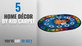 Top 10 Home Décor By Kid Carpet [ Winter 2018 ]: Carpets for Kids 9445 Literacy Sunny Day Learn and