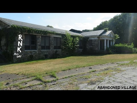 ABANDONED MENTAL VILLAGE with MORGUE (URBEX)