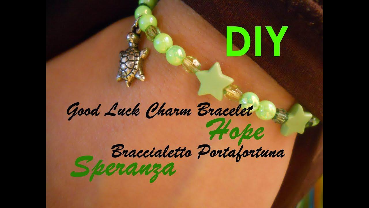 Good Luck Charm Bracelet ☆ Hope ☆ Braccialetto ...