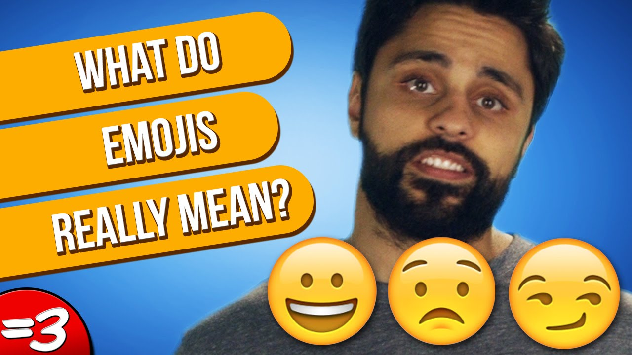 What Do Emojis Really Mean Youtube