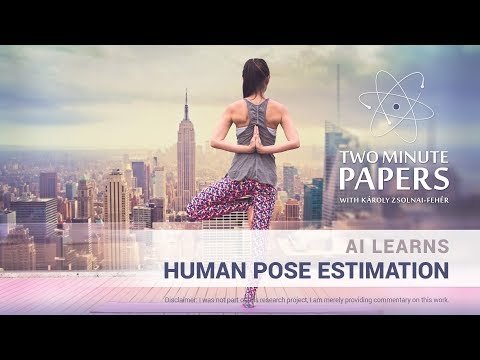 AI Learns Human Pose Estimation From Videos | Two Minute Papers #237