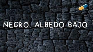 Albedo. Superficies Negras, Albedo Bajo.