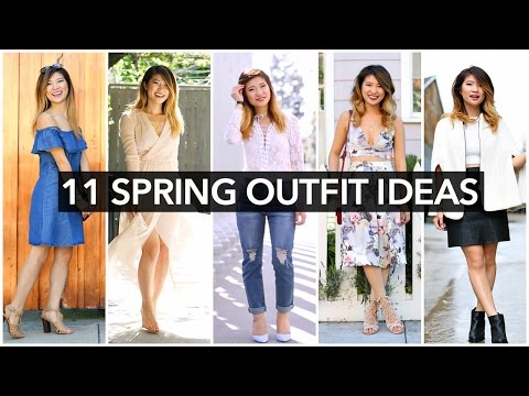 11 Spring Outfit Ideas! Spring Fashion Trends 2016!
