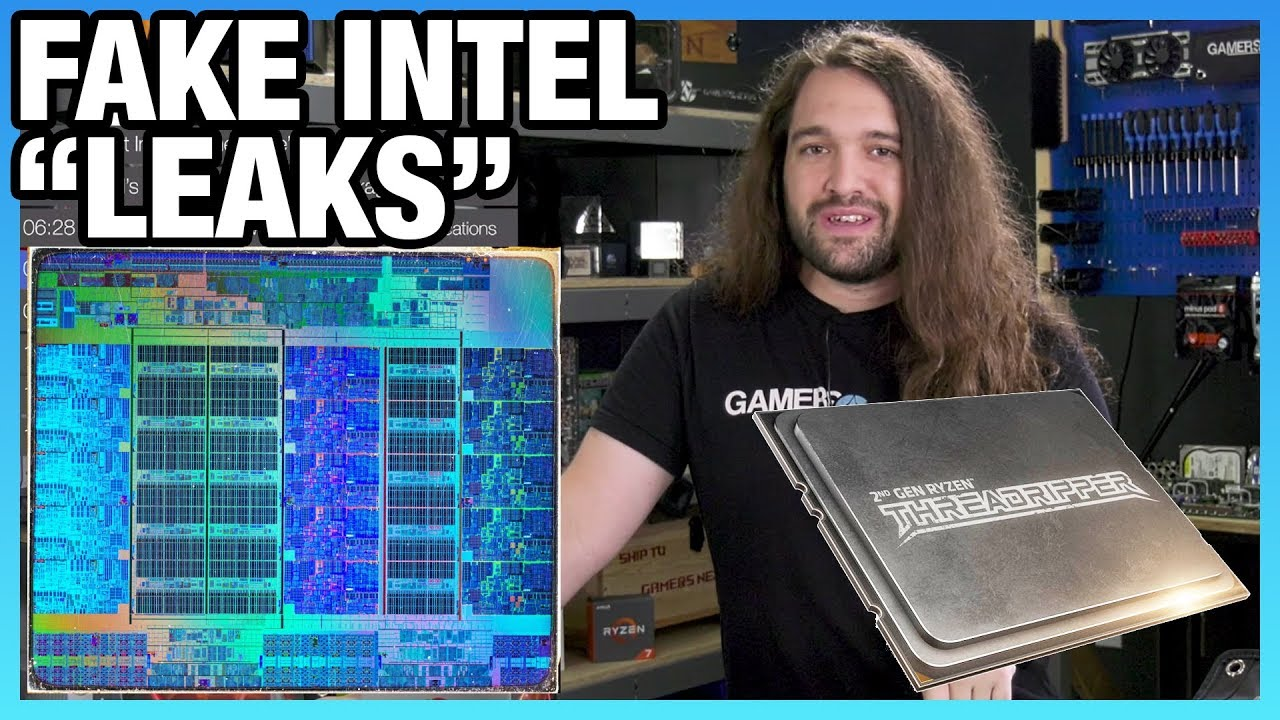 HW News - Fake Intel 'Leaks' for Comet Lake, Ryzen 2000