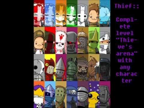 how to unlock all characters in castle crashers youtube