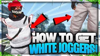 GTA 5 SOLO Director Mode Glitch How To Get WHITE Joggers Modded Outfits 1.46!
