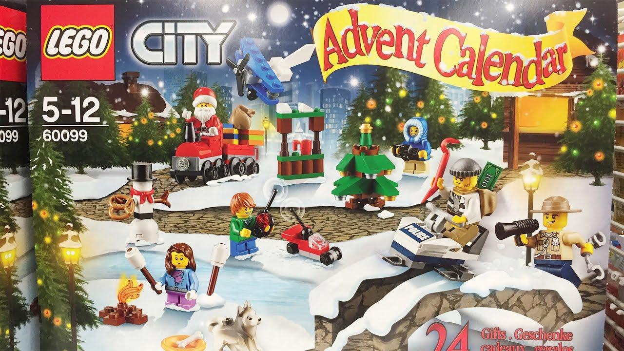 lego city surprise xmas advent calendar for boys youtube. Black Bedroom Furniture Sets. Home Design Ideas