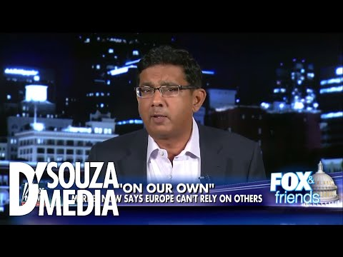 """D'Souza: Merkel's U.S. comments a """"Declaration of Independence"""" for Germany"""