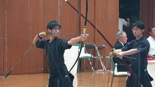 第30回全国大学弓道選抜大会 男子の部予選 桜美林大学