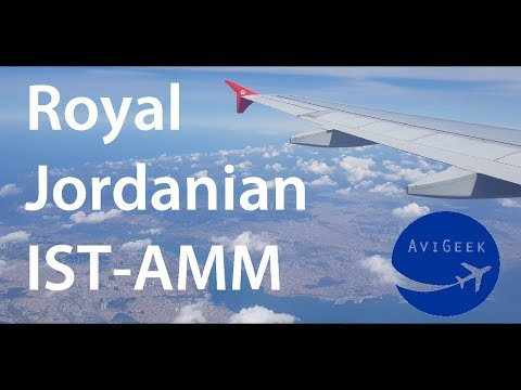 TRIP REPORT | Royal Jordanian (Economy) | Istanbul New Airpo