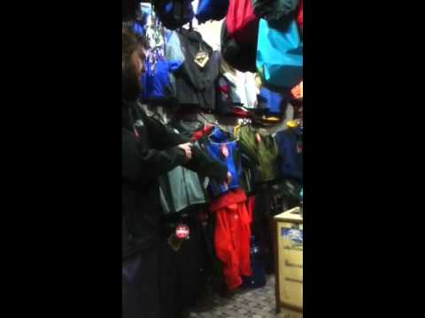 North Face sales pitch...Nepal