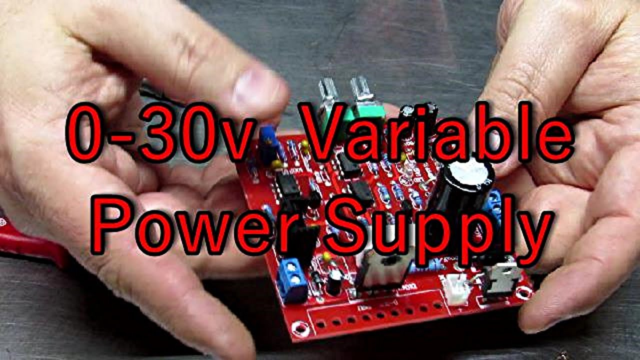 0 To 30 Volt Power Supply Two Minutes Of Science Youtube Adjustable Regulated 3 V 25 A
