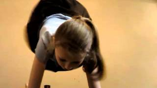 Attempting To Do A Chartwheel And A Handstand!