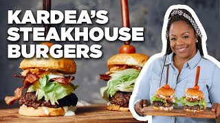 Kardea Brown's Steakhouse Burgers | Delicious Miss Brown | Food Network