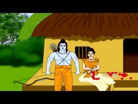 Sita Haran Part of Ramayan in Marathi | Cartoon Marathi Goshti For Kids | Marathi Movies