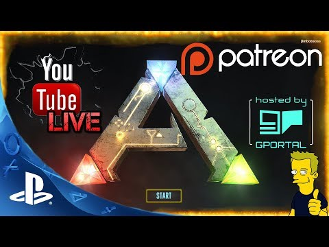 PS4 ARK: SURVIVAL EVOLVED STARTING OUT!! ON CONSOLE
