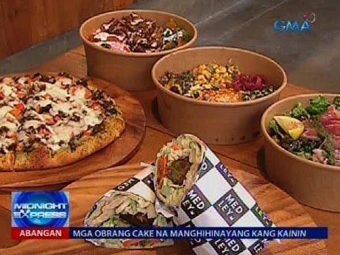 Healthy at on the go na Mediterranean food, alok ng isang kainan
