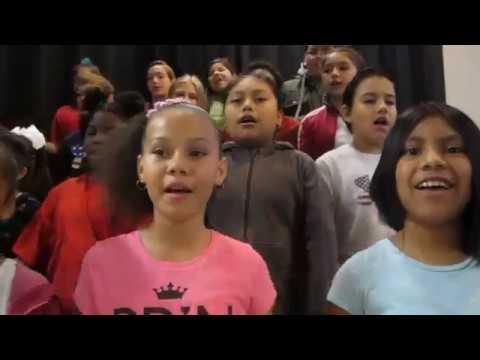 Roy Clark Elementary Debuts New School Song