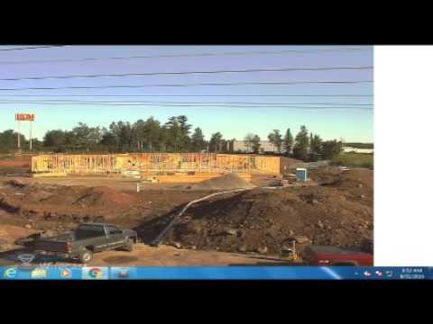 St. Luke's Miller Creek Medical Clinic Construction Site - Live Stream