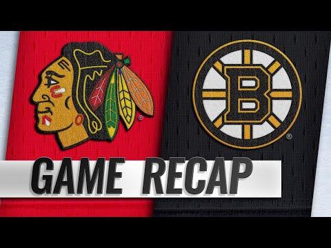 Marchand, Krejci lead Bruins past Blackhawks, 6-3