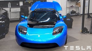 Tesla Roadster Update!