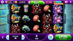 PETS OF THE LIVING DEAD SLOT - zombie themed video slot machine - Slotomania Game