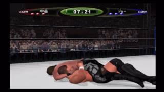 Shinsuke Nakamura vs Samoa Joe in their first video game appearance - King of Colosseum 2